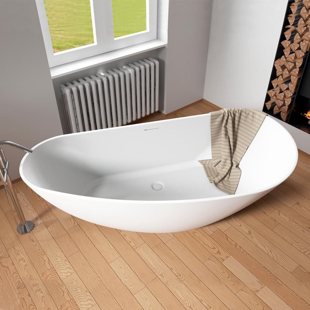 Riho Granada freistehende Badewanne 190 x 90 cm BS20 - MEGABAD