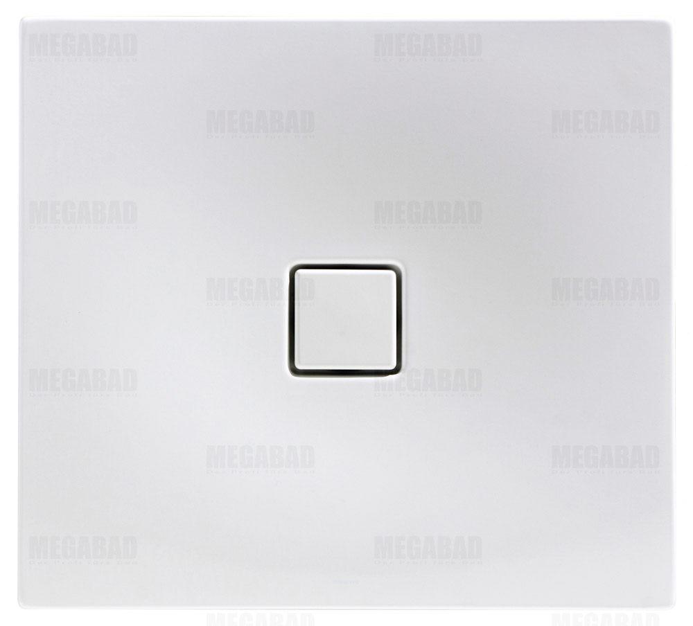 kaldewei conoflat 780 1 duschwanne 80 x 90 cm megabad. Black Bedroom Furniture Sets. Home Design Ideas