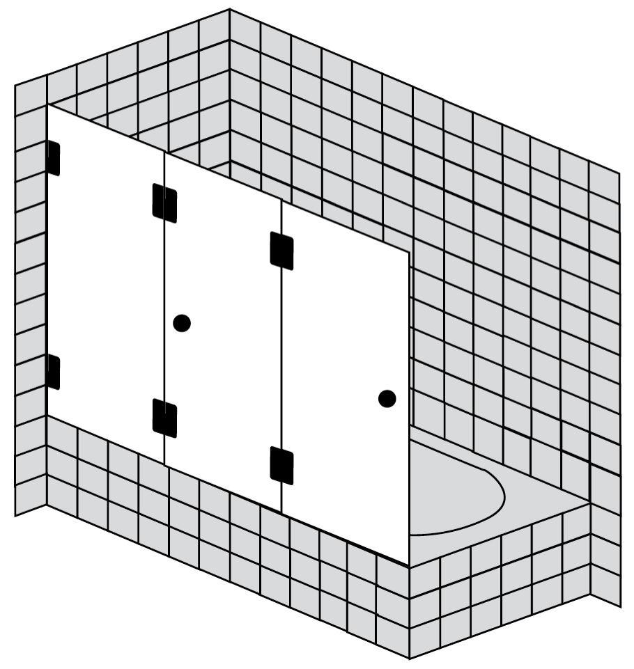 sprinz xxl badewannenaufsatz 3 teilig 1635ch megabad. Black Bedroom Furniture Sets. Home Design Ideas