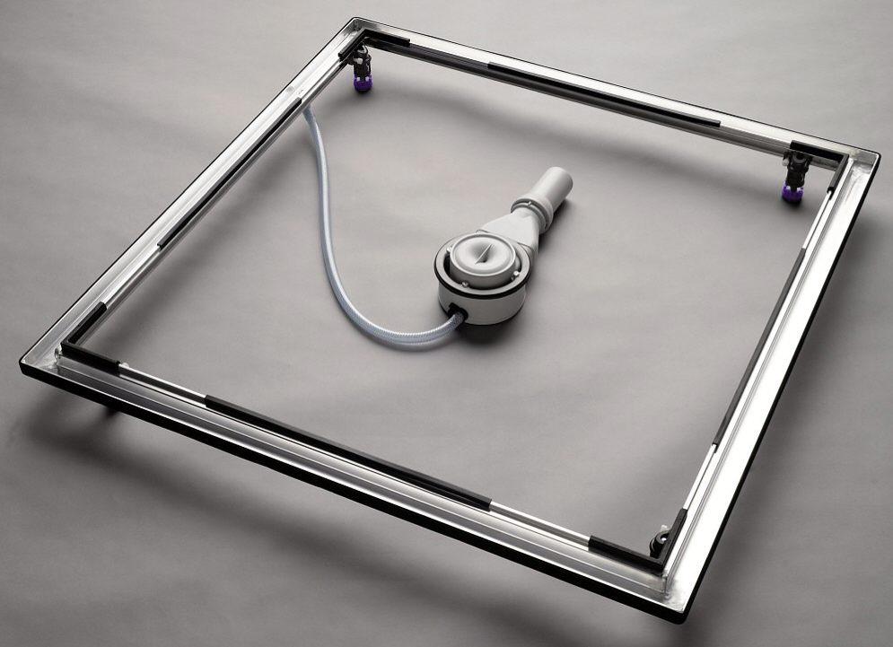 kaldewei einbausystemrahmen esr ii 80 x 80 cm art 584574010000 bei megabad megabad. Black Bedroom Furniture Sets. Home Design Ideas