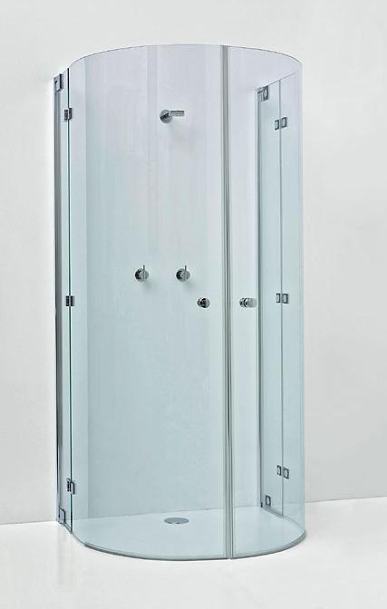 sprinz omega plus halbkreis duschabtrennung 0461ch megabad. Black Bedroom Furniture Sets. Home Design Ideas