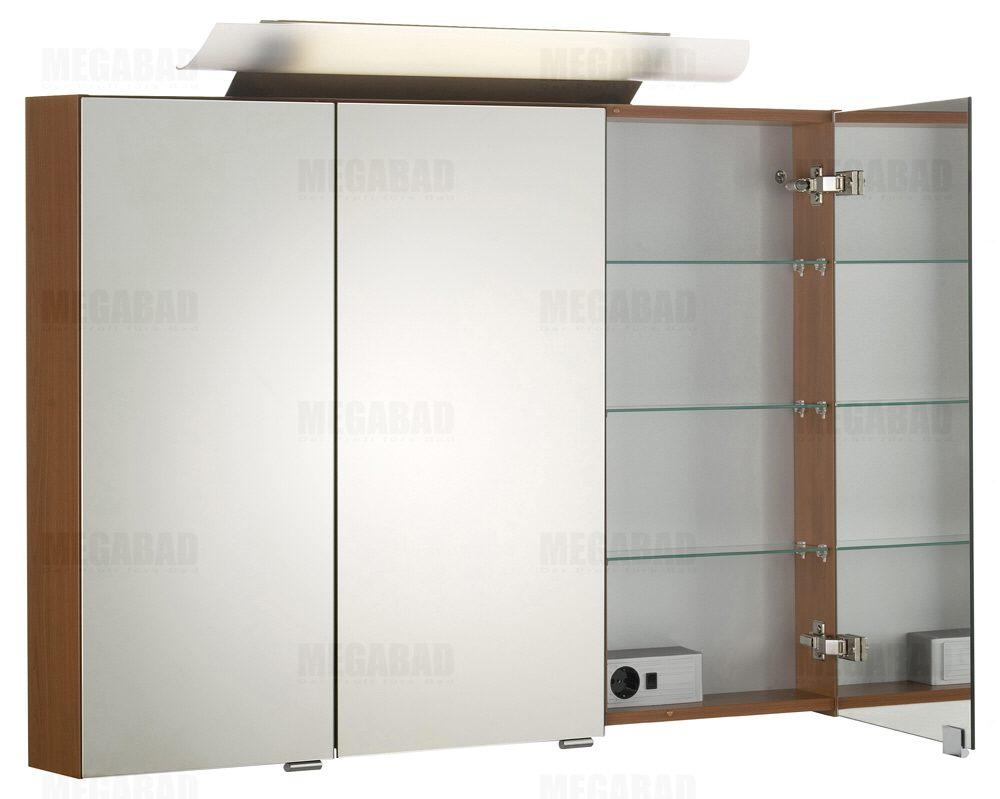 Architekt 100 spiegelschrank 100 cm megabad - Spiegelschrank 40 cm ...