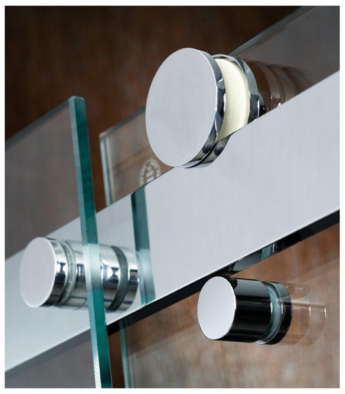 hsk atelier eckeinstieg 4 teilig mit gleitt ren 90 x 90 cm megabad. Black Bedroom Furniture Sets. Home Design Ideas