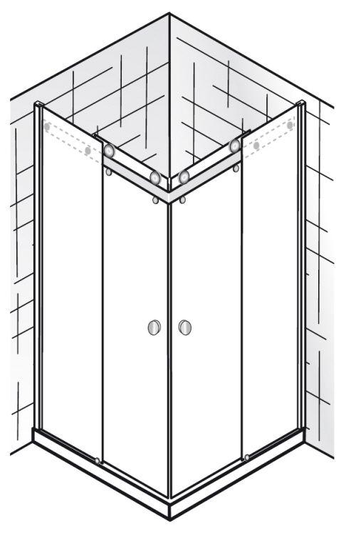 hsk atelier eckeinstieg 4 teilig mit gleitt ren sonderma. Black Bedroom Furniture Sets. Home Design Ideas