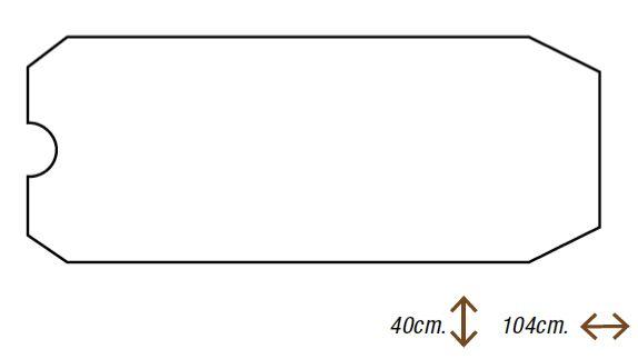 koh i noor antirutschmatte 104 x 40 cm f r badewannen art 45011v megabad. Black Bedroom Furniture Sets. Home Design Ideas