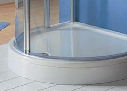 hsk sch rze f r acryl duschwanne 110 x 90 cm megabad. Black Bedroom Furniture Sets. Home Design Ideas
