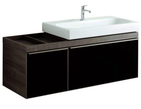 keramag citterio waschtischunterschrank mit ablagefl che links megabad. Black Bedroom Furniture Sets. Home Design Ideas