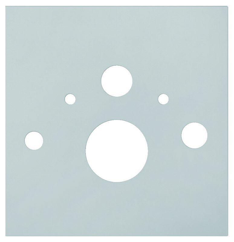 tece lux wc glasplatte f r dusch wc 9650101 megabad. Black Bedroom Furniture Sets. Home Design Ideas