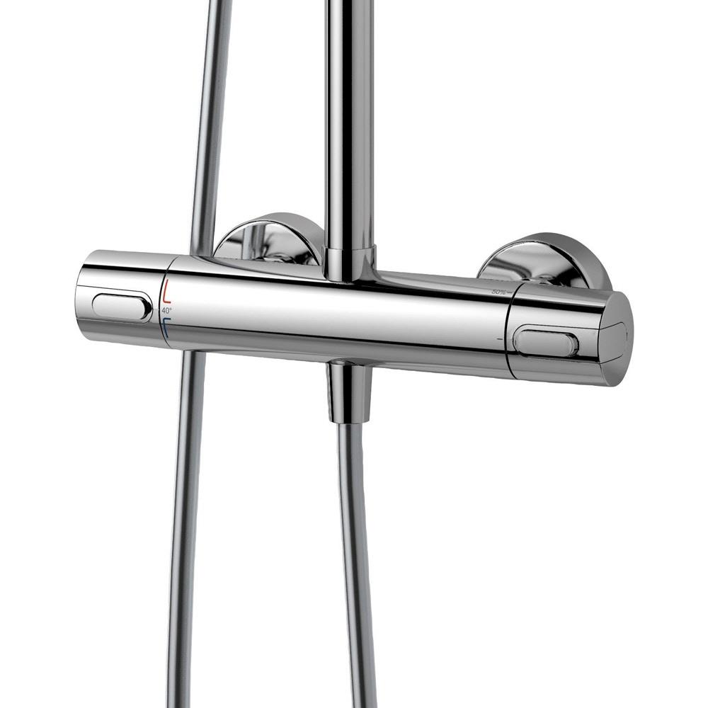 ideal standard idealrain duschsystem a5686 mit ceratherm armatur megabad. Black Bedroom Furniture Sets. Home Design Ideas