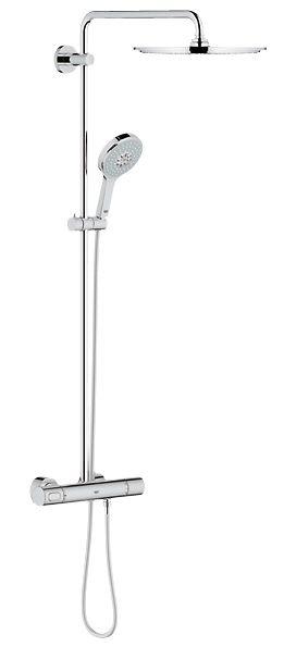 grohe rainshower duschsystem 310 power soul mit thermostat megabad. Black Bedroom Furniture Sets. Home Design Ideas