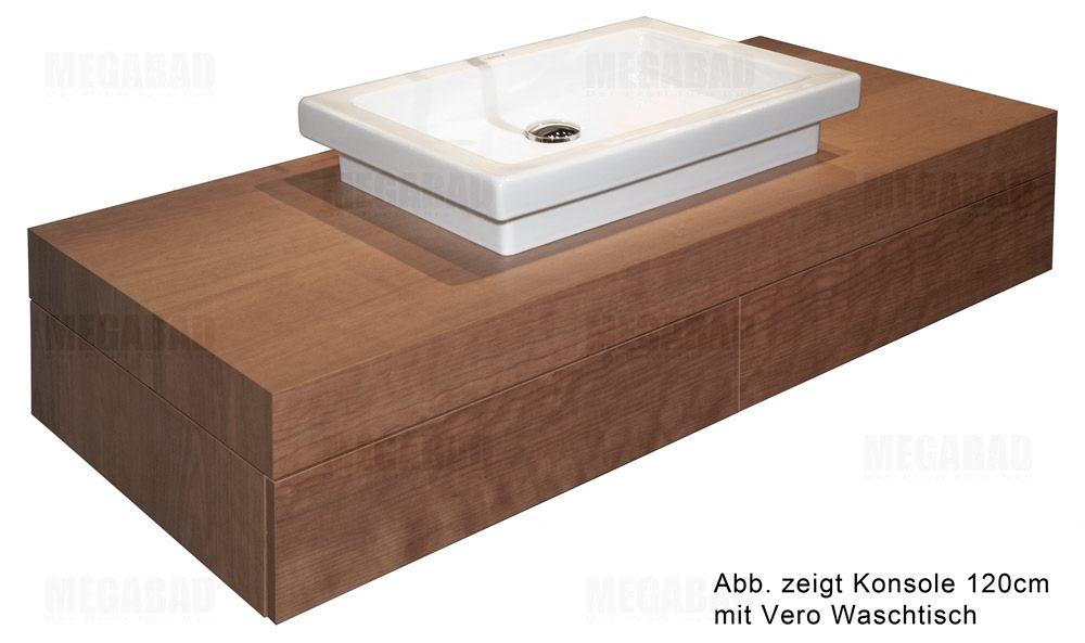 duravit fogo konsole mit schubkasten art fo852201313 megabad. Black Bedroom Furniture Sets. Home Design Ideas