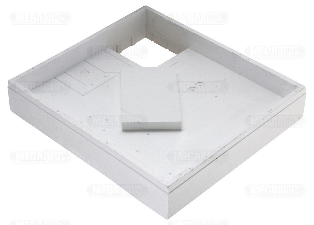 duschwanne einbauen mit wannentr ger. Black Bedroom Furniture Sets. Home Design Ideas