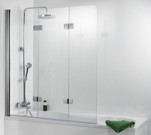 hsk premium softcube badewannenaufsatz anschlag links megabad. Black Bedroom Furniture Sets. Home Design Ideas
