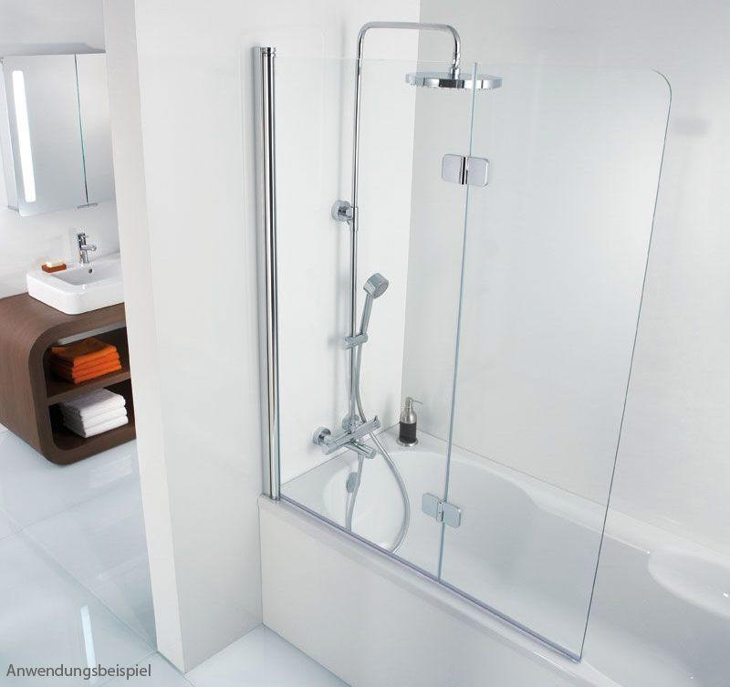hsk premium softcube badewannenaufsatz 2 teilig 680611450links megabad. Black Bedroom Furniture Sets. Home Design Ideas