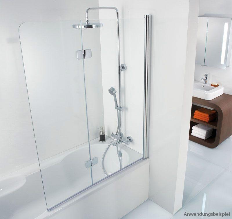 hsk premium softcube badewannenaufsatz 2 teilig 6806114 41. Black Bedroom Furniture Sets. Home Design Ideas