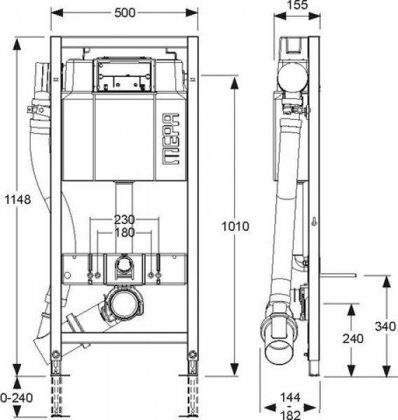 mepa varivit air wc element sanicontrol typ a31 mit l fter megabad. Black Bedroom Furniture Sets. Home Design Ideas