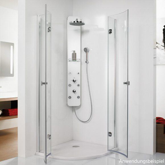 hsk duschpaneel softcube 1001600 47 megabad. Black Bedroom Furniture Sets. Home Design Ideas
