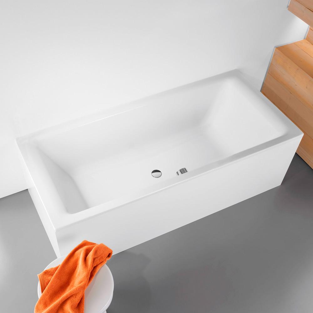 kaldewei puro duo 665 badewanne 190 x 90 cm megabad. Black Bedroom Furniture Sets. Home Design Ideas