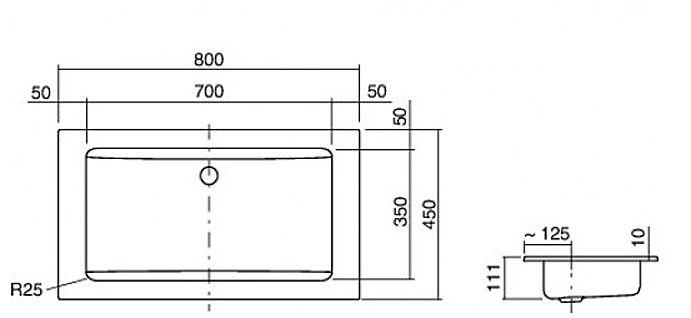 alape einbaubecken eb r800 megabad. Black Bedroom Furniture Sets. Home Design Ideas