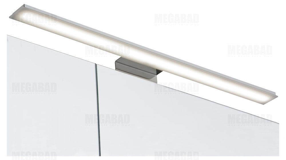 Architekt 100 LED Spiegelschrank 75 cm   MEGABAD