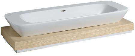 keramag silk waschtischplatte 120 cm mit siphonausschnitt mittig 816220 megabad. Black Bedroom Furniture Sets. Home Design Ideas