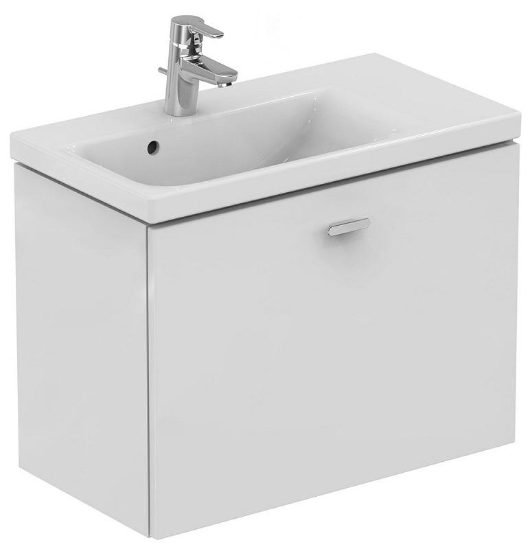 ideal standard connect space waschtischunterschrank 70 cm ablage rechts e0344wg megabad. Black Bedroom Furniture Sets. Home Design Ideas