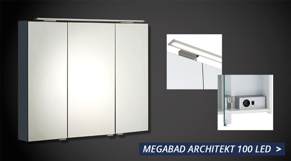 spiegelschrank whlen hier online kaufen megabad - Badezimmerschranke Die Besten Mobel Mit Funktion Stauraum Fur Ihr Badezimmer