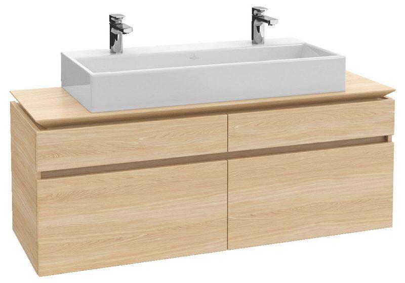 Villeroy boch legato waschtischunterschrank 140 cm b15200pn megabad - Waschtischunterschrank 140 ...