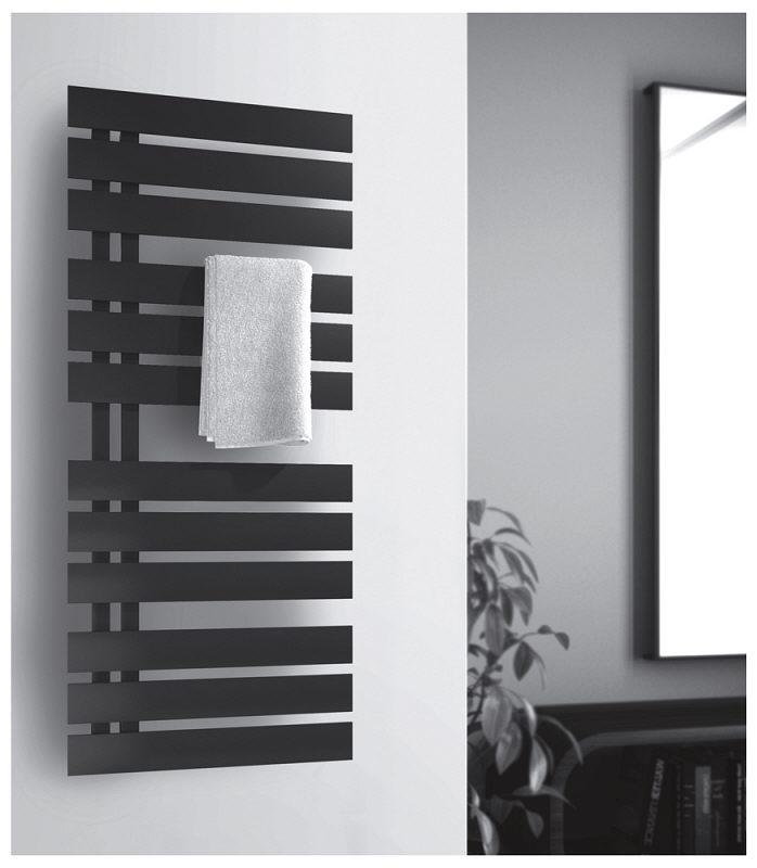 Badezimmer schwarz weis grau