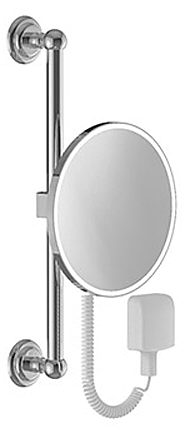 keuco astor kosmetikspiegel beleuchtet 17621019001 megabad. Black Bedroom Furniture Sets. Home Design Ideas