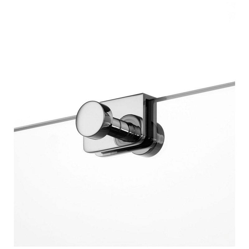 giese hakenleiste sky mit 2 haken f r glasduschwand 31947 02 megabad. Black Bedroom Furniture Sets. Home Design Ideas