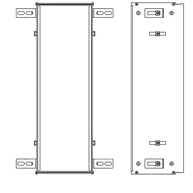 emco einbaurahmen f r asis module 49 5 cm 973000031 megabad. Black Bedroom Furniture Sets. Home Design Ideas