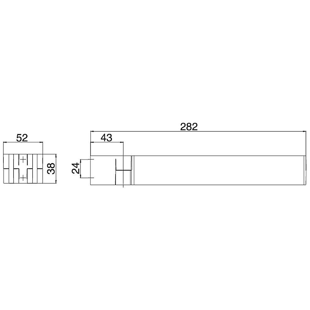 emco liaison handtuchhalter 30 cm 175000128 megabad. Black Bedroom Furniture Sets. Home Design Ideas