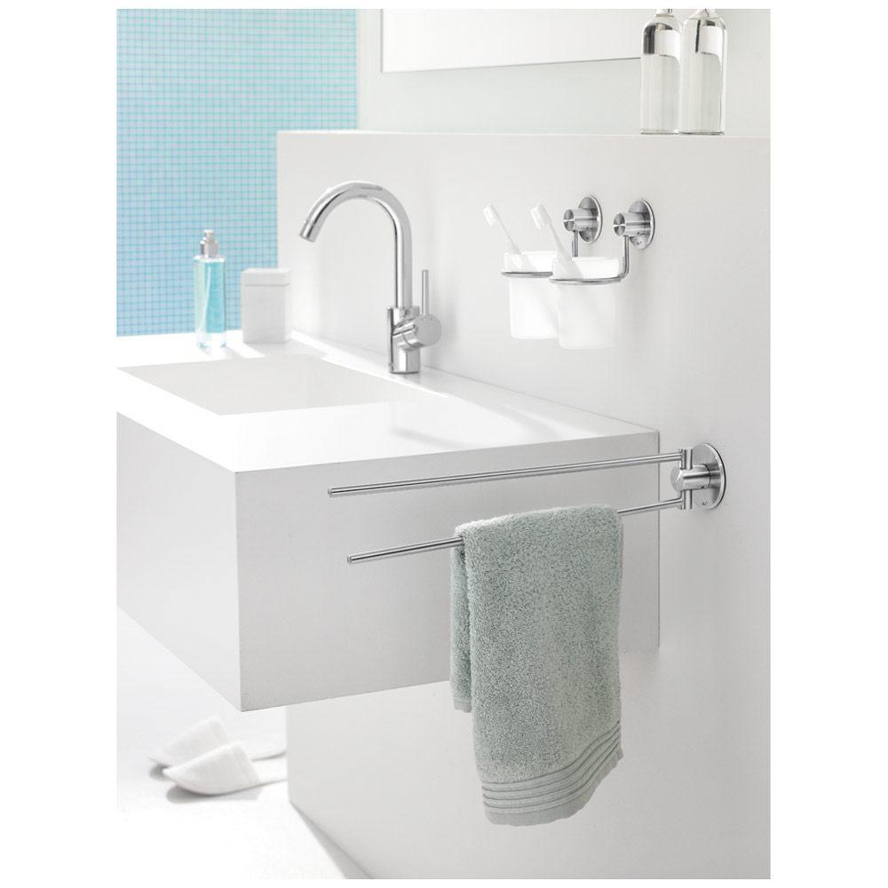 zack marino handtuchhalter schwenkbar 40221 megabad. Black Bedroom Furniture Sets. Home Design Ideas