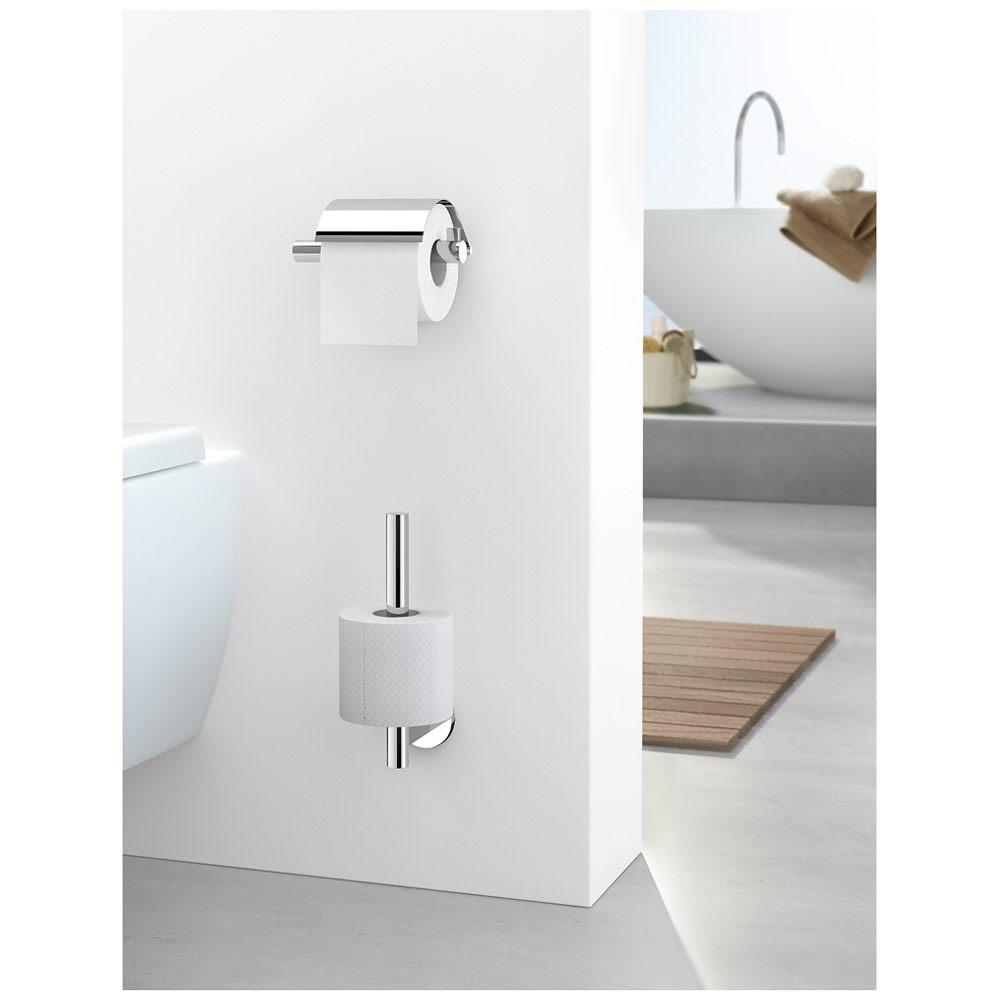 zack scala toilettenpapierhalter mit klappe 40051 megabad. Black Bedroom Furniture Sets. Home Design Ideas