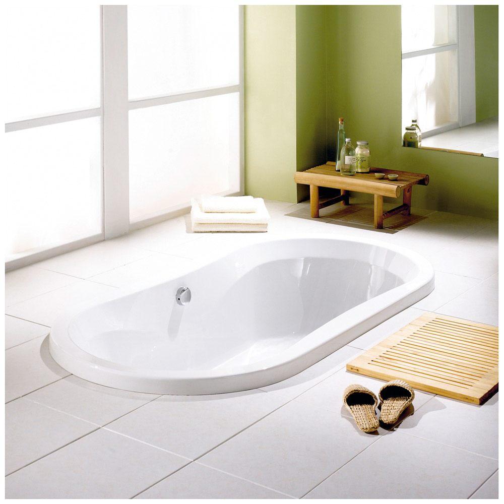 megabad architekt ovalbadewanne 190 x 90 cm mb16145 megabad. Black Bedroom Furniture Sets. Home Design Ideas