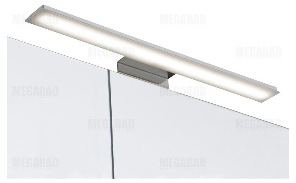 architekt 100 led spiegelschrank 50 cm ambsp0508056atz megabad. Black Bedroom Furniture Sets. Home Design Ideas