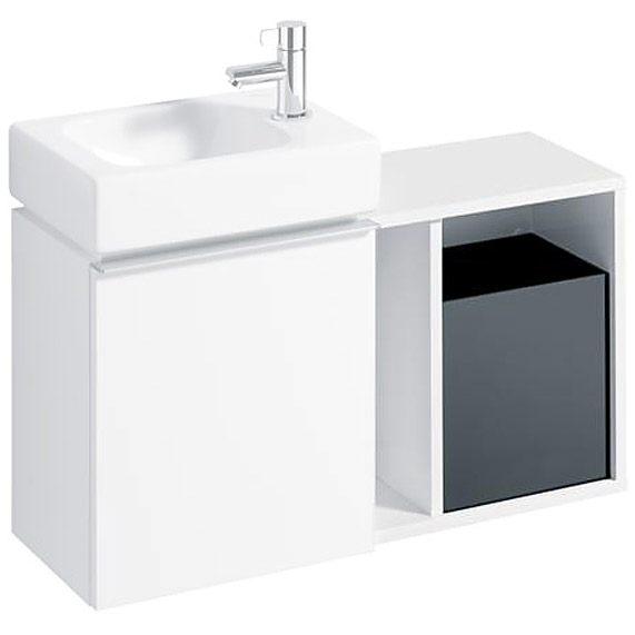 keramag icon xs seitenelement 37 cm 840137 megabad. Black Bedroom Furniture Sets. Home Design Ideas