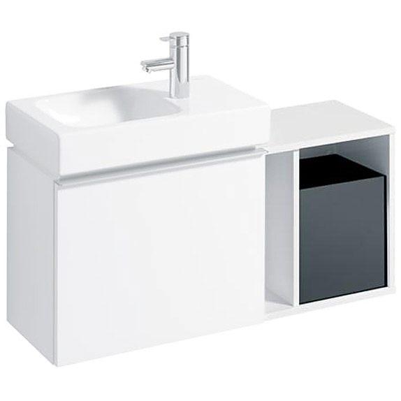 keramag icon xs seitenelement 37 cm 840237 megabad. Black Bedroom Furniture Sets. Home Design Ideas