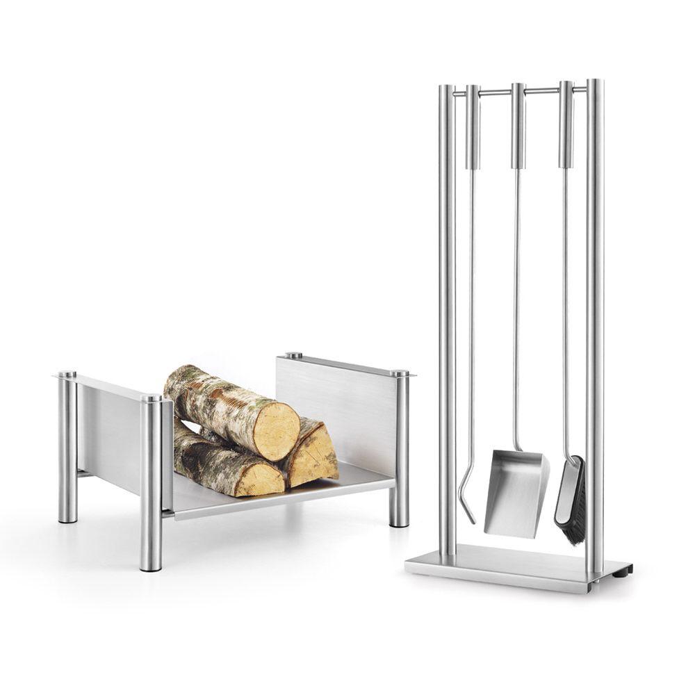 zack ghio kaminbesteck 4 teilig 50026 megabad. Black Bedroom Furniture Sets. Home Design Ideas