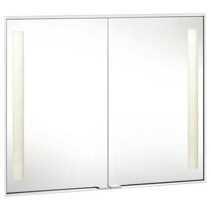 keuco royal integral spiegelschrank 26009171303 megabad. Black Bedroom Furniture Sets. Home Design Ideas