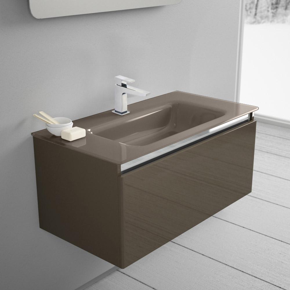 megabad architekt 100 glasline waschtischkombination mbhe90tcrtr megabad. Black Bedroom Furniture Sets. Home Design Ideas