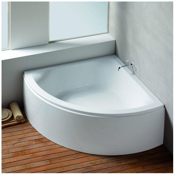 hoesch scelta 150 cm mit loser sch rze megabad. Black Bedroom Furniture Sets. Home Design Ideas