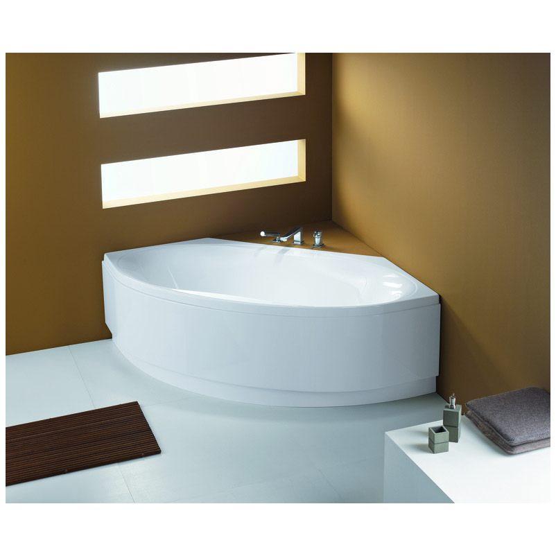 hoesch maxi vario eckwanne mit loser sch rze. Black Bedroom Furniture Sets. Home Design Ideas