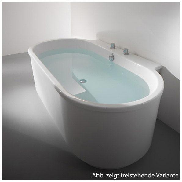 Hoesch badewannen  Hoesch Foster Vorwandwanne 190 x 102 cm 6478.010 - MEGABAD
