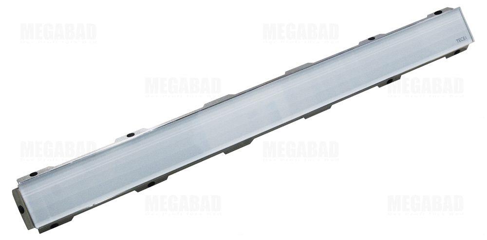 tece drainline glasabdeckung weiß für duschrinne 100 cm gerade ... - Glasabdeckung Küche Preise