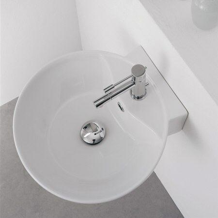 scarabeo thin line sfera 8009r waschtisch megabad. Black Bedroom Furniture Sets. Home Design Ideas