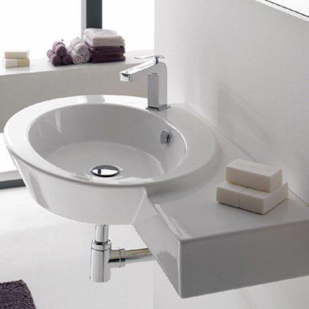 scarabeo wish waschtisch mit ablage rechts megabad. Black Bedroom Furniture Sets. Home Design Ideas
