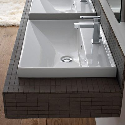 scarabeo ml waschtisch 60 cm megabad. Black Bedroom Furniture Sets. Home Design Ideas