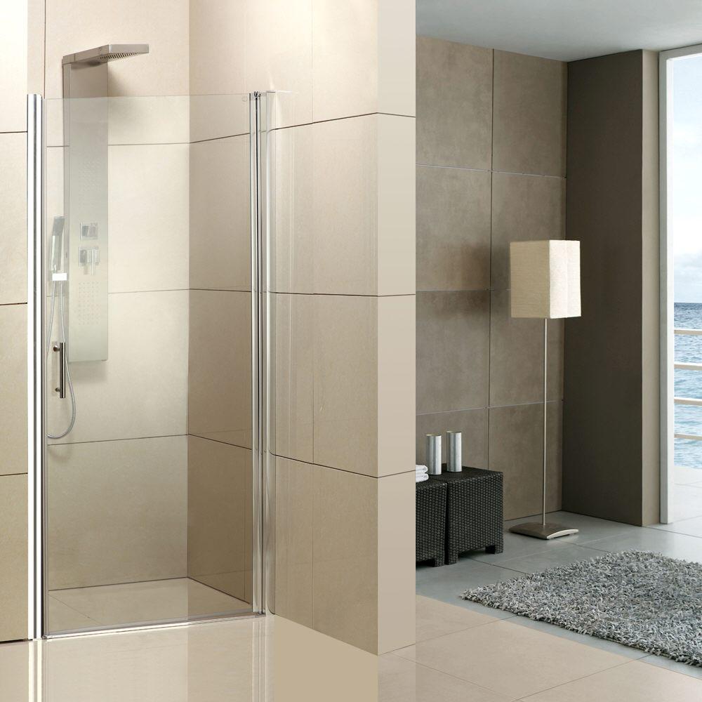 Planplus home duscht r f r nische 90 x 195 cm t ranschlag for Wohnzimmertisch 90 x 120